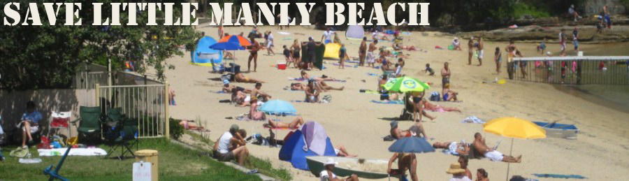 Save Little Manly Beach
